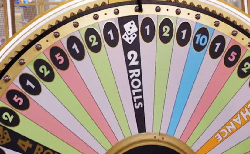 Monopoly wheel sectors